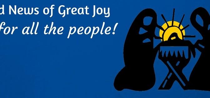 Christmas, nativity, good news, great joy, facebook cover