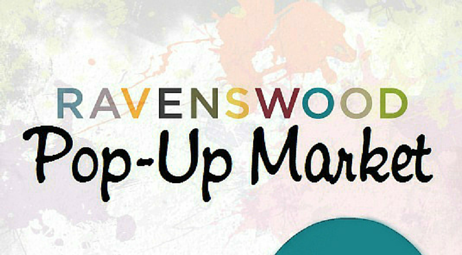 Ravenswood pop up market wordpress header